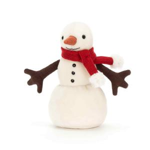 Jellycat - SM6M - Merry Snowman  - 16 cm (412882)