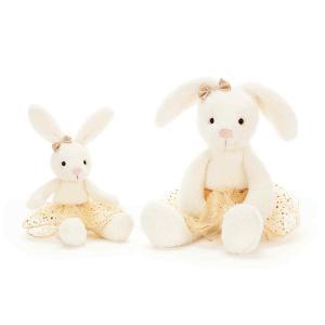 Jellycat - GB3B - Glistening Belle Bunny Small  - 23 cm (412924)