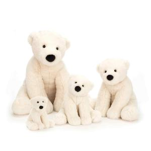 Jellycat - PE6P - Perry Polar Bear Tiny - 12  cm (412938)