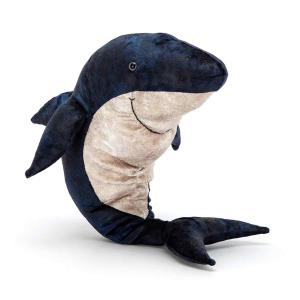 Jellycat - VGW2S - Peluche Grand requin blanc Victor  - 26 cm (413110)