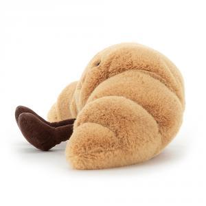 Jellycat - A2CRO - Peluche croissant Amuseable - L = 10 cm x l = 33 cm x H =19 cm (413134)