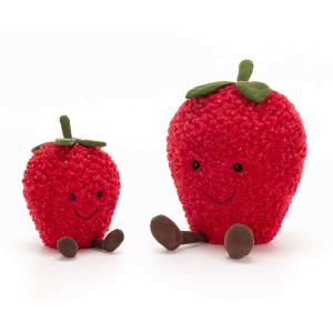 Jellycat - A6S - Amuseable Strawberry Small  - 20 cm (413148)