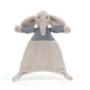 Jellycat - JUM4ES - Doudou Plat Elephant Fouillis -23 cm (413294)