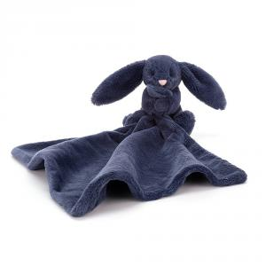 Jellycat - SO4NB - Bashful Navy Bunny Soother - 34 cm (413352)