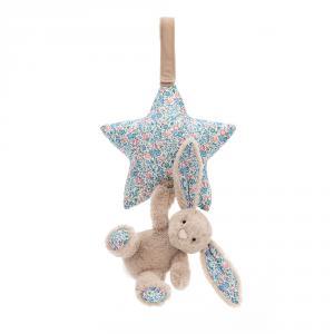Jellycat - BAMS4BLB - Blossom Beige Bunny Musical Pull -28 cm (413354)