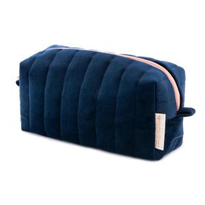 Nobodinoz - N112046 - Trousse de toilette  Savanna velours Night blue (413448)