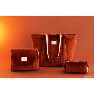 Nobodinoz - N111971 - Trousse de toilette  Savanna velours Wild brown (413454)