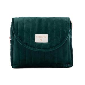 Nobodinoz - N111988 - Trousse de toilette  Savanna velours Jungle green (413456)