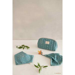 Nobodinoz - N111209 - Bandana Lucky Gold confetti magic green (413556)