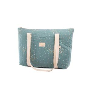 Nobodinoz - N111322 - Sac de maternité Paris Gold confetti magic green (413584)