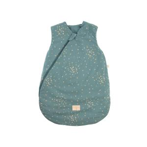 Nobodinoz - N111506 - Gigoteuse Cocoon naissance Gold confetti magic green (413594)