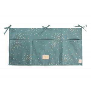 Nobodinoz - N111216 - Poches de rangement Merlin Gold confetti magic green (413598)