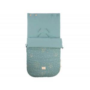 Nobodinoz - N111513 - Nid d'ange Passegiata Gold confetti magic green (413602)