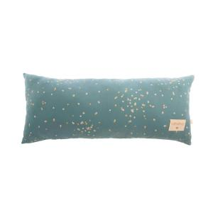 Nobodinoz - N111407 - Coussin Hardy Gold confetti magic green (413618)