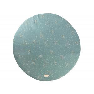 Nobodinoz - N111445 - Tapis de jeu rond Full Moon Gold confetti magic green (413626)