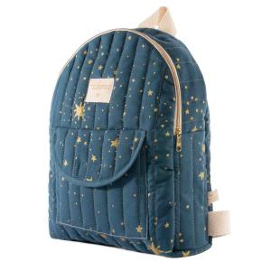 Nobodinoz - N110981 - Sac à dos enfant Too Cool Gold stella/ night blue (413654)