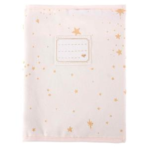 Nobodinoz - N111032 - Protège-cahier de textes Too Cool Gold stella/ dream pink (413660)