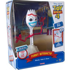Toy Story - 64434 - TOY STORY 4 - FORKY INTERACTIF 25cm (413960)