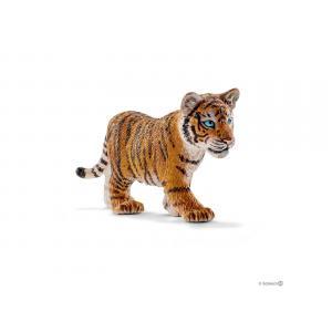 Schleich - bu055 - Figurines animaux sauvages (panthère,bébé tigre, lion, bébé tigre du bengale) (413972)