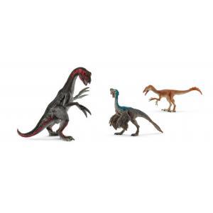 Schleich - bu058 - Mini figurines dinosaures (thérizinosaure, oviraptor, tawa) (413978)