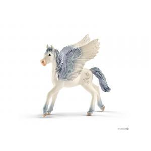 Schleich - bu066 - Animaux féeriques (licorne de lune, poulain, licorne-pégase bijou, bébé pégase) (413994)