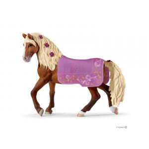 Schleich - bu070 - Set de schleich chevaux (équestre + étalon paso fino, mia & spotty, équestre rocky mountain) (414002)