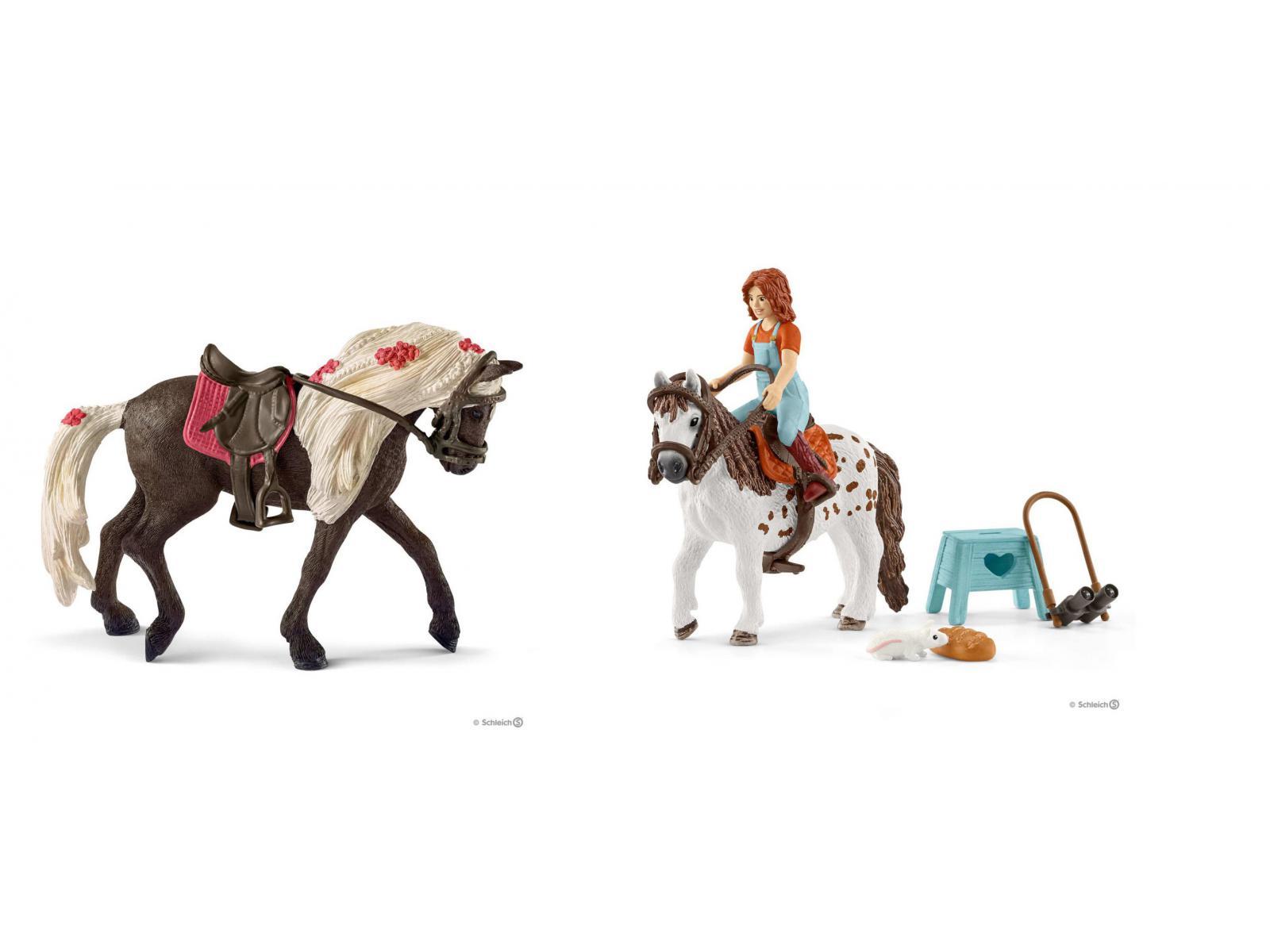 Schleich Horse Club d/'Hannah de premier secours Set Cheval Chevaux Jeu personnage jeu personnage
