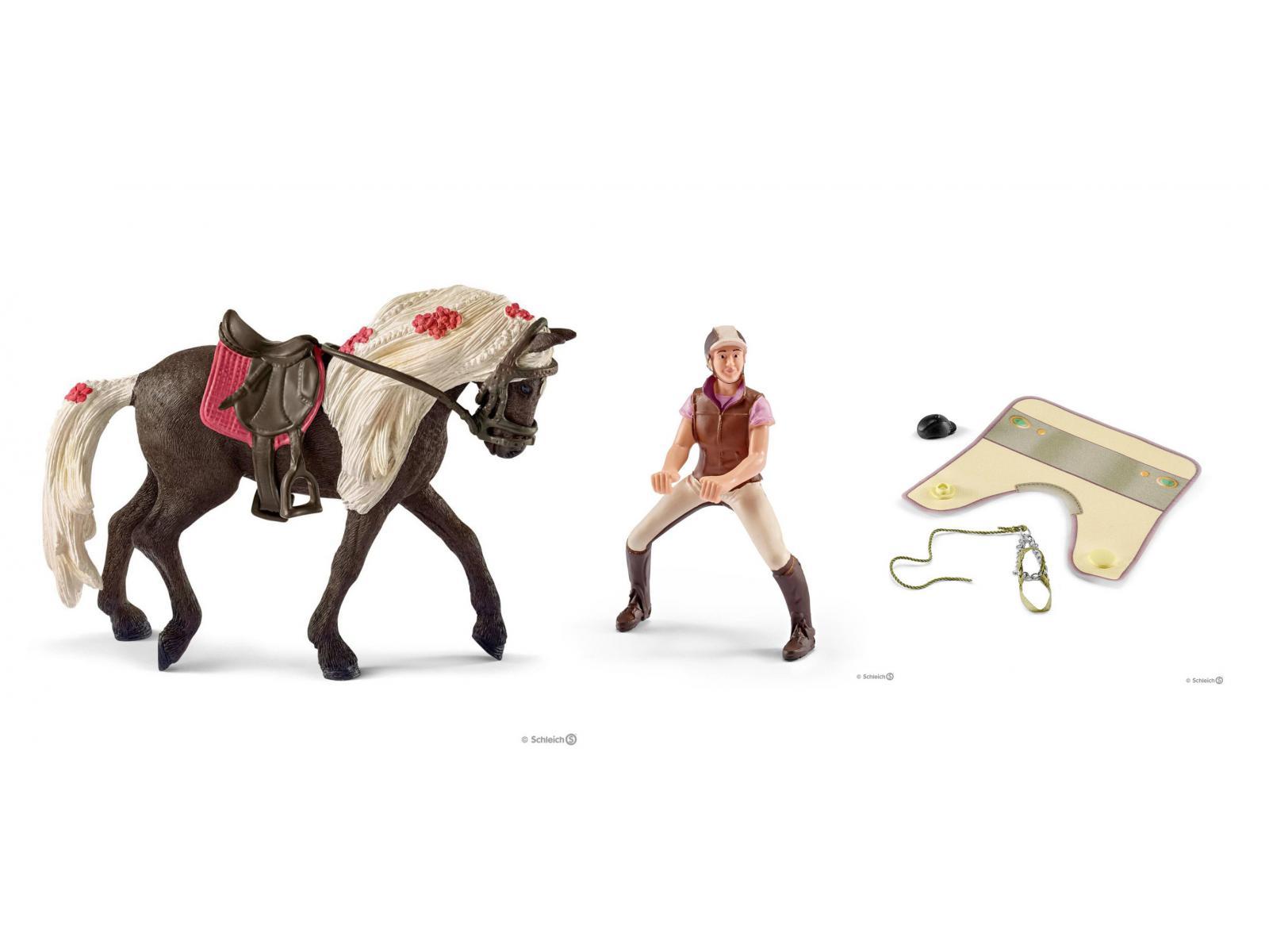 Rose Schleich 42162 Loisirs cavalière