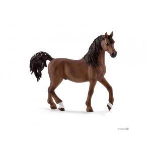 Schleich - bu076 - Figurine chevaux etalon et jument avec accessoires (414014)