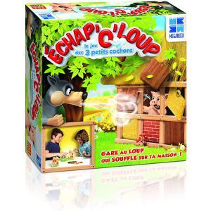 Megableu editions - 678004 - Echap o loup - le jeu des 3 petits cochons dés 4 ans (414044)