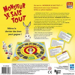 Megableu editions - 678258 - Monsieur je sais tout! jeu de société dés 8 ans (414046)