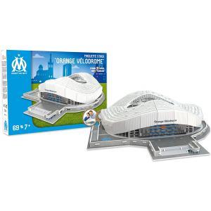 Megableu editions - 33004 - Puzzle 3D Stade de l'Olympique de Marseille - 69 pièces - 7 ans et + (414060)