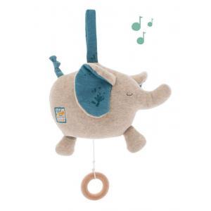 Moulin Roty - 669057 - Poupée musique éléphant Sous mon baobab (414306)