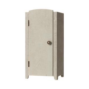 Maileg - 11-9001-00 - Vintage closet w. shelves, Mini - Mint/Grey - Taille : 22 cm (414378)