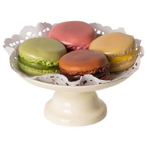 Maileg - 11-9116-00 - Macarons et chocolat chaud - Taille : 5 cm (414410)
