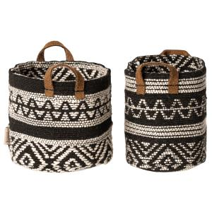 Maileg - 11-9405-00 - Miniature baskets, 2 pcs.  - Taille : 7 cm (414424)