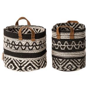 Maileg - 11-9405-00 - Miniature baskets, 2 pcs.  - Taille : 7 cm (414424)
