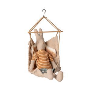 Maileg - 11-9406-00 - Hanging chair, Micro - Taille 17 cm - à partir de 36 mois (414426)