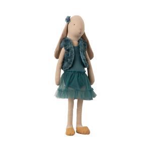 Maileg - 16-9403-00 - Bunny size 4, Ballerina - Petrol - Taille : 53 cm (414694)