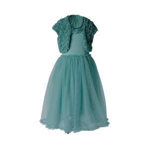 Maileg - 21-9202-01 - Ballerina dress, 6-8 years - Petrol - Taille 80 cm - à partir de 24 mois (414804)