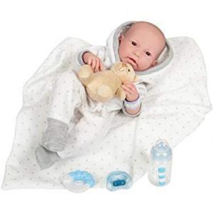 Berenguer - 18110 - Poupon Le Newborn 43 cm Nouveau-né réaliste garçon (415240)