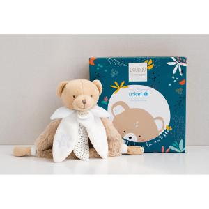Doudou et compagnie - DC3480 - UNICEF - Doudou luminescent  - 17 cm (415472)