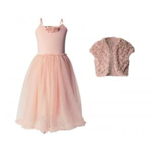 Maileg - BU003 - Robe rose ballerina et bolero 6-8 ans (415512)