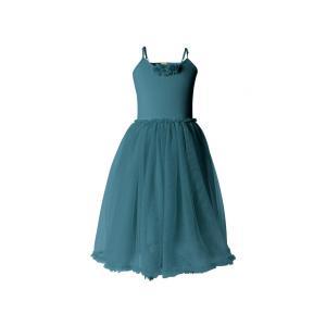 Maileg - BU005 - Set de robe ballerina et bolero 4-6 ans - Petrol (415516)