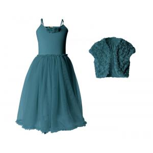 Maileg - BU006 - Robe Petrol ballerina et bolero 6-8 ans (415518)