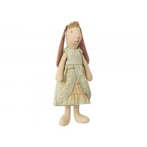 Maileg - BU017 - Poupée mini lapin princesse, transat, table à langer (415540)