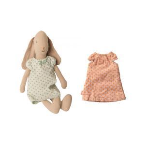 Maileg - BU019 - Set de poupée et vêtement - Lapin, chemises de nuit, taille 2 - 28 cm (415544)