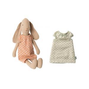 Maileg - BU020 - Set de poupées Lapin et chemises de nuit taille 2 (415546)