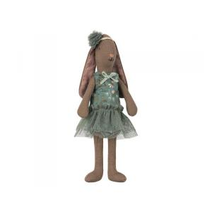Maileg - BU028 - Mini lapin marron, costume de fleur - essence et tutu et serre-tête pour mini - essence (415562)