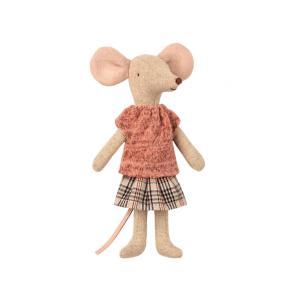 Maileg - BU035 - Set de poupées souris maman et papa avec vetement de nuit (415576)